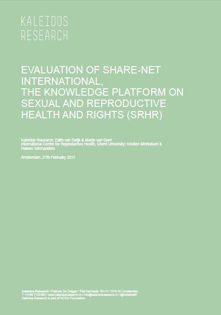 Share-Net Evaluation Report 2017
