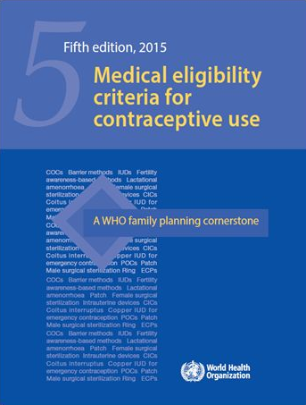 Medical Eligibility Criteria for Contraceptive Use