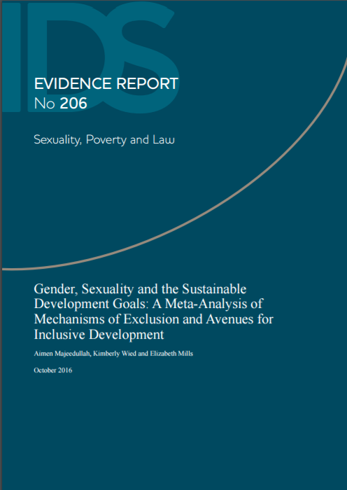 Gender, Sexuality and the SDGs: A Meta-Analysis of Mechanisms of Exclusion and Avenues for Inclusive Development