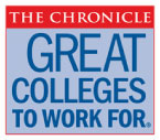 The Chronicle: Great Colleges to Work for Logo