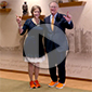 President Hargis  and First Cowgirl Hargis