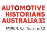 Newsletter of Automotive Historians Australia Inc.