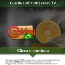 TALY TV.me Cooking PAYOUT: 4.50 - 7 € OFFER TYPE: CPA