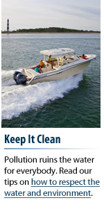 Boating Etiquette: Keep It Clean