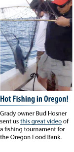 Hot fishing in Oregon!