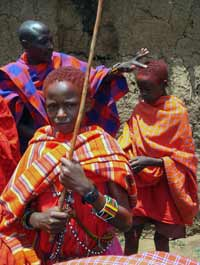 Enkipaata, Maasai boy's ceremony