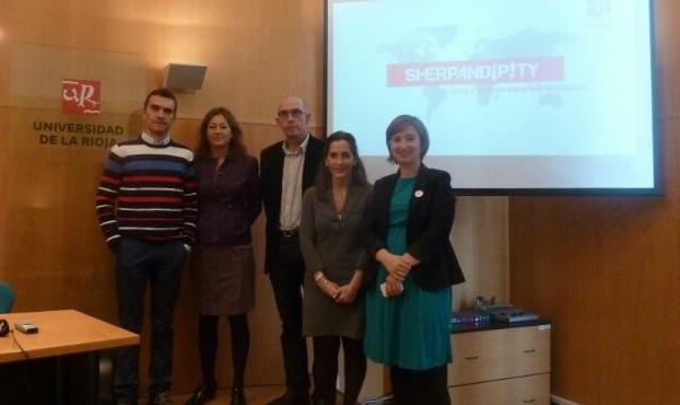 Sherpandipity en la Universidad de la Rioja