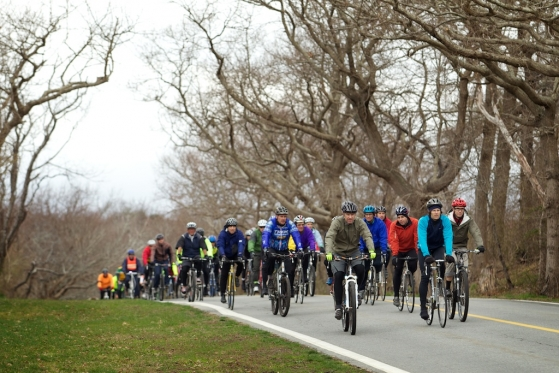 Mike Strickland Memorial Ride, photo by Jason Evans