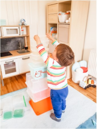 Cognitive development for babies and toddlers fluid reasoning play idea