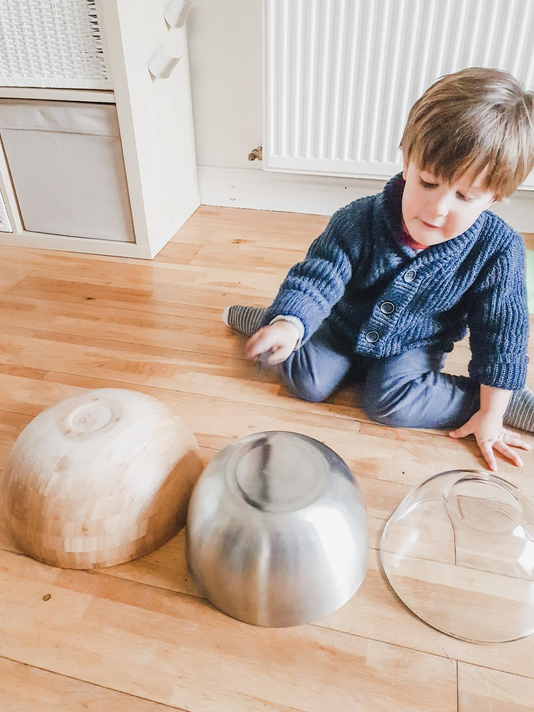 Auditory processing Play ideas for babies and toddlers