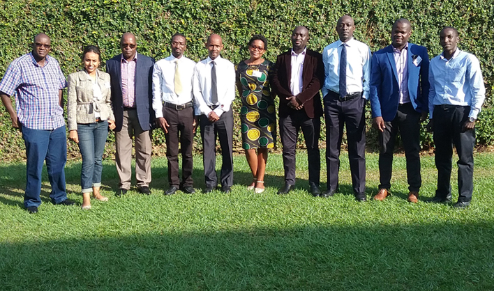 Participants at the Risk Management Training 5-7 June Kampala, Uganda