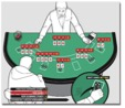 How can a casino executive be sure a person is actually counting?