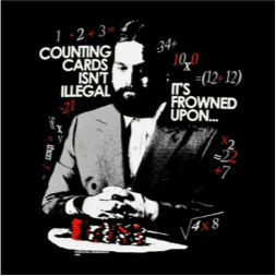 Counting Cards Isn't Illegal - It's frowned upon!