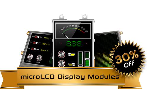 microLCD Display Modules