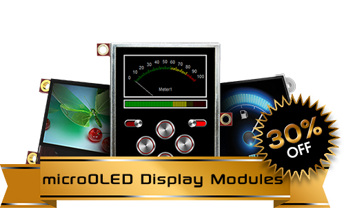 microOLED Display Modules