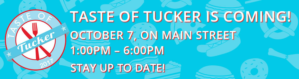 Taste of Tucker is coming to Main Street on Saturday, October 7, 2017