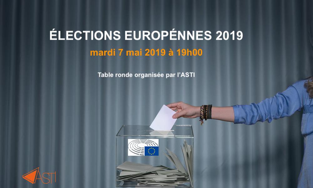 Élections européennes - table ronde - 7 mai - 19h00