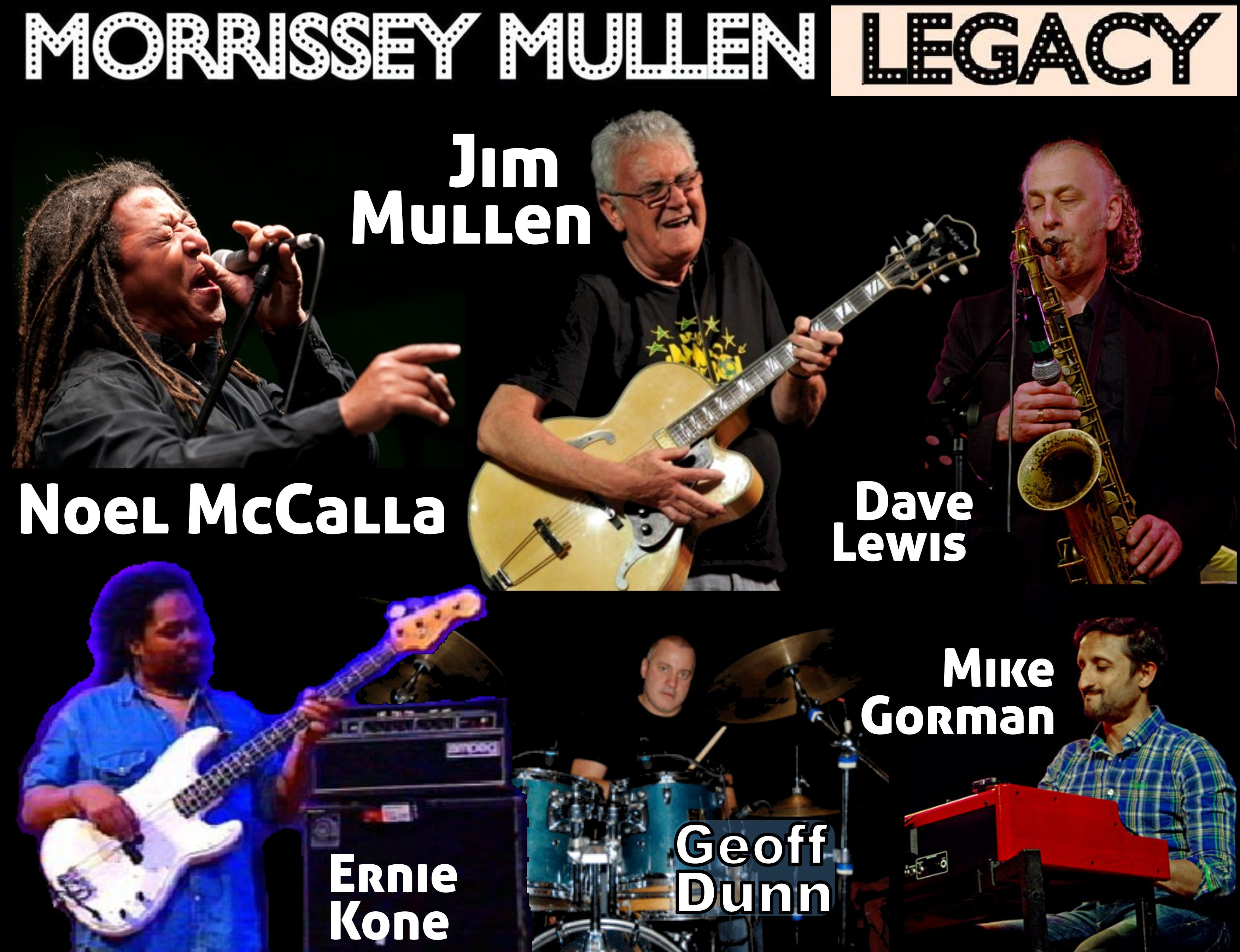 Moorissey Mullen Legacy Line-Up