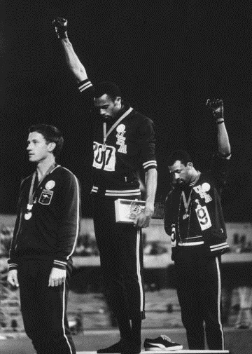 Black Power Salute, 1968 Olympic Summer Games