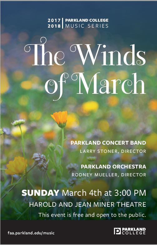 Winds of March concert