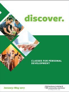 Community Education Class booklet