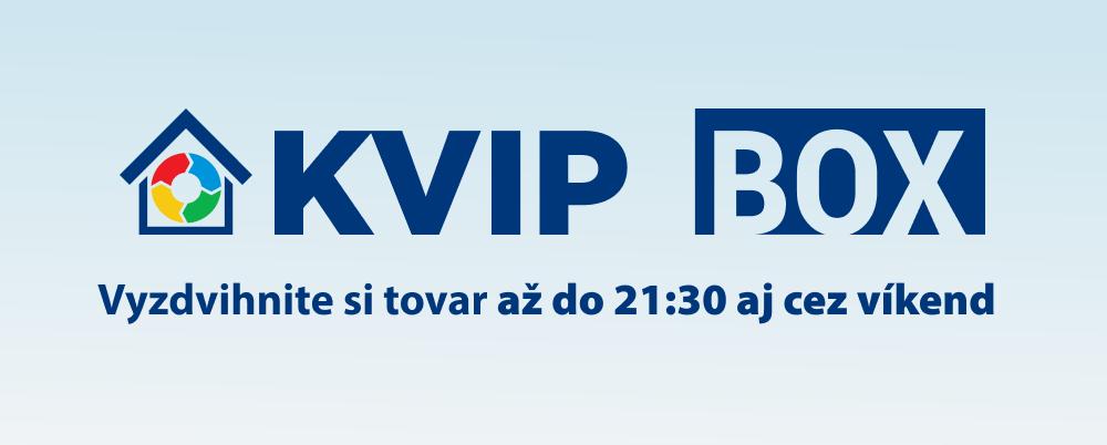 KVIP BOX až do 21:30 aj cez víkend