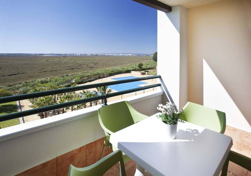 Ocean view from balcony, Isla Canela, Spain
