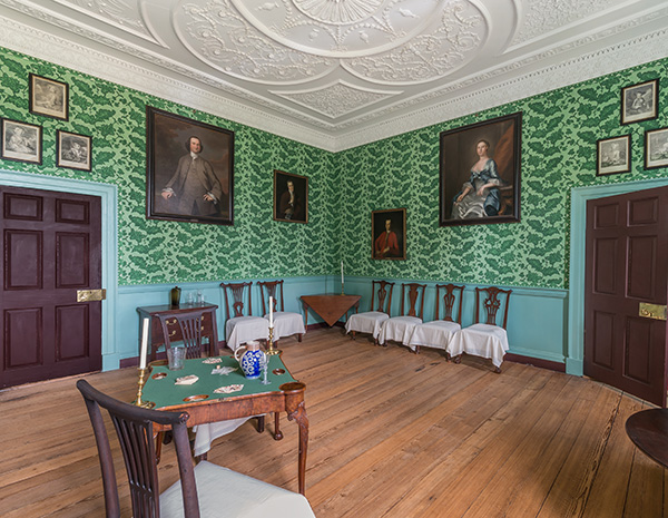 The Drawing Room at Historic Kenmore