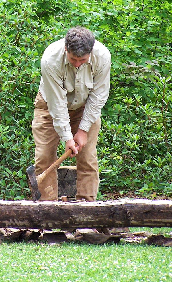 Timber Hewing