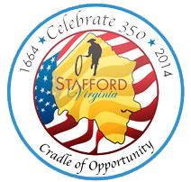 Stafford 350th logo