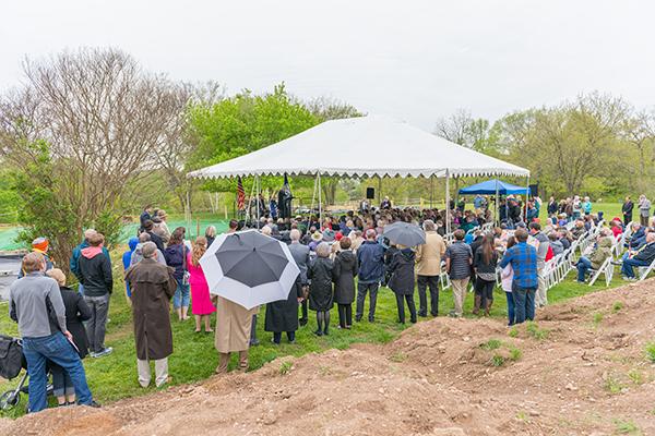 Ferry Farm Groundbreaking Event