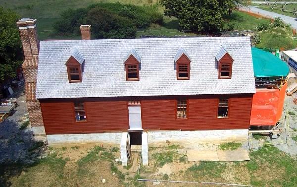 The Washington house at Ferry Farm