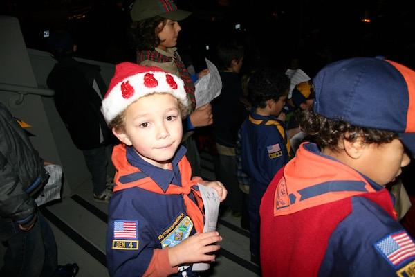 Cub Scout Caroling @ Avant Garden | Benicia | California | United States