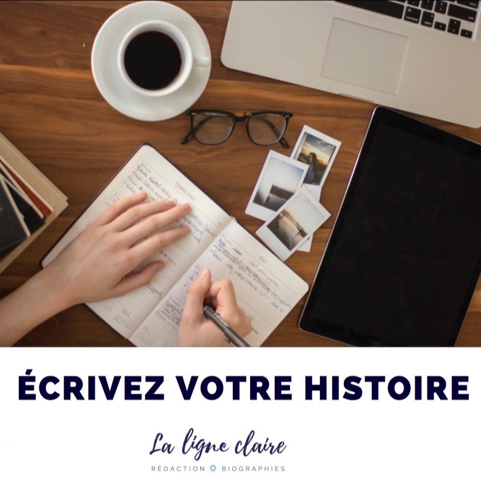 """Le guide """"Écrivez votre histoire"""", écrit par Claire Lorentz-Augier, vous donne des conseils pour l'écriture de vos mémoires."""
