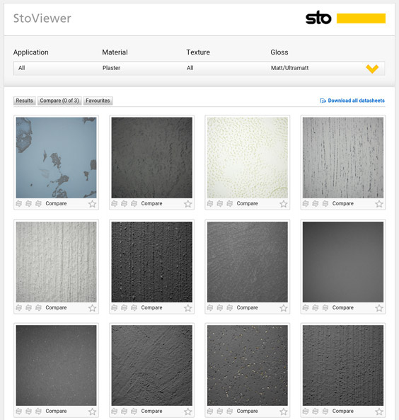 www.stoviewer.com Προτάσεις υφής, υλικών και χρωμάτων για εξωτερικούς και εσωτερικούς τοίχους