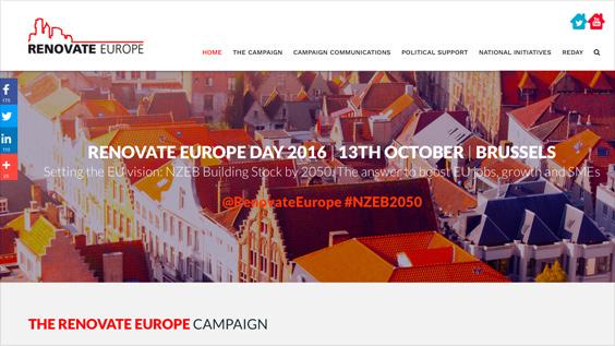 Renovate Europe Campaign