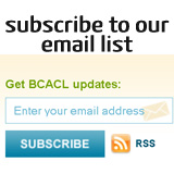 Subscribe to BCACL Email List