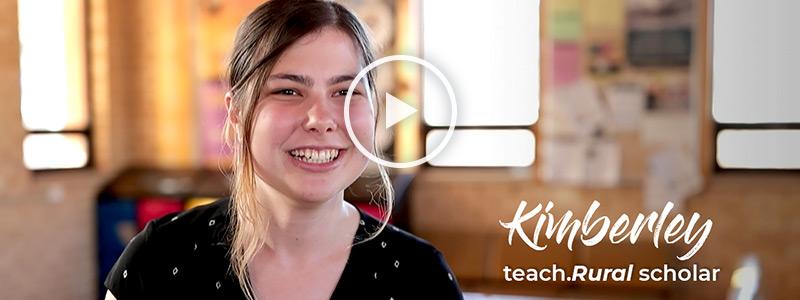Kimberley - teach Rural scholar
