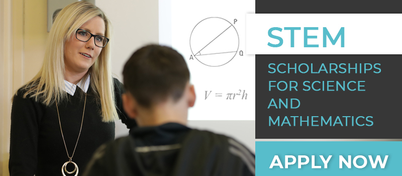 STEM Scholarships for science and mathematics, apply now