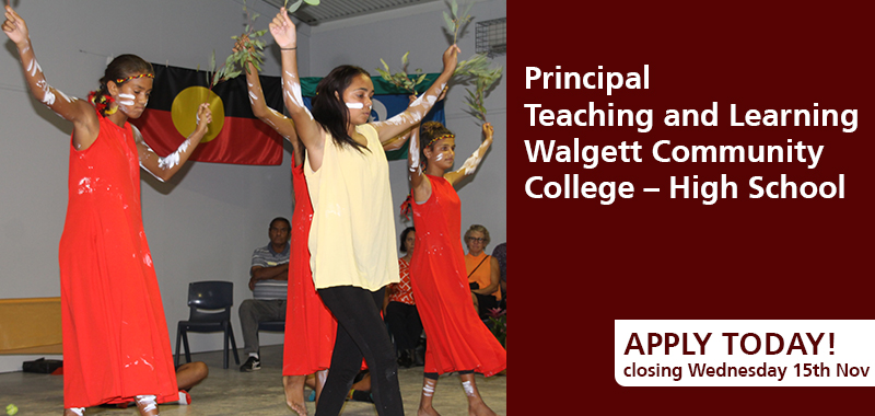 Principal Teaching and Learning in Walgett, apply today