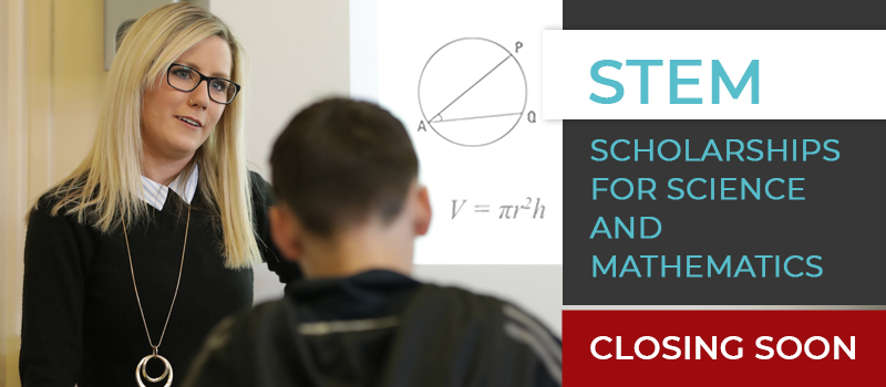 STEM scholarships, closing soon