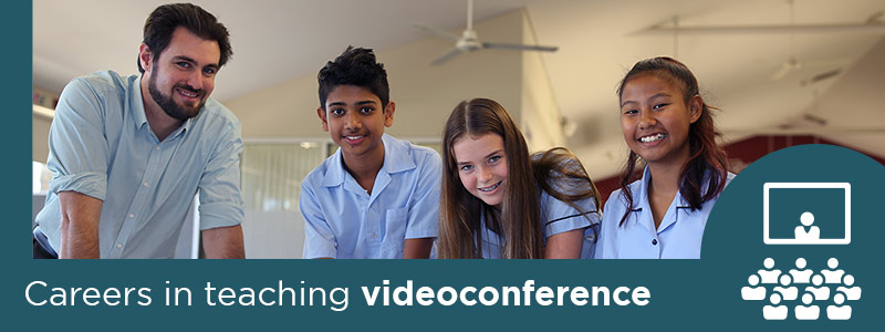 Careers in teaching videoconference