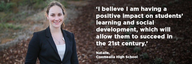 Natalie, Coomealla High School