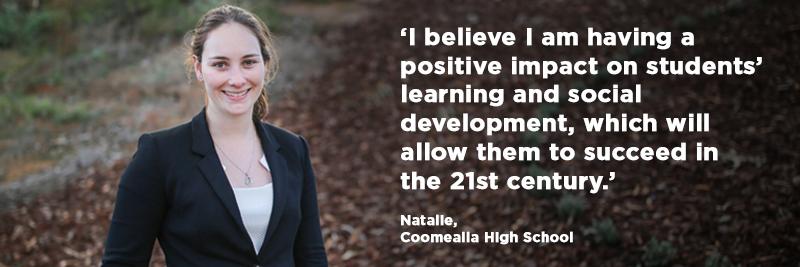 Natalie, Coomealla High School