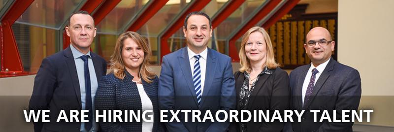 We are hiring extraordinary talent