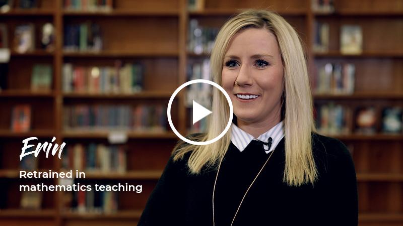 Erin - Retrained in mathematics teaching