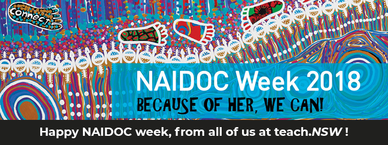 Happy NAIDOC week from all of us at teach NSW