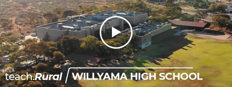 Teach rural - Willyama High School