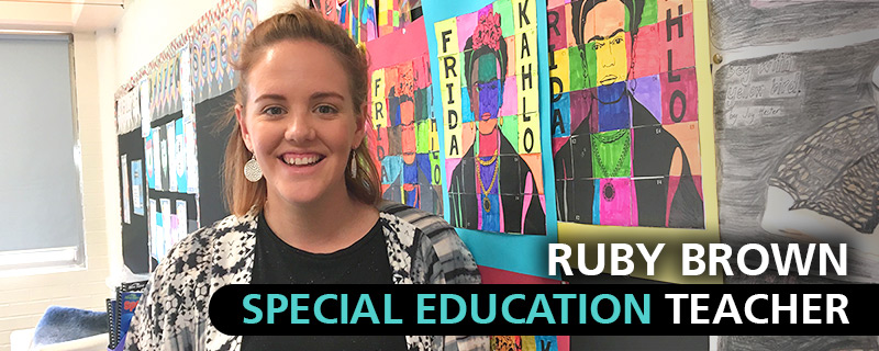 Ruby Brown, Special Education Teacher