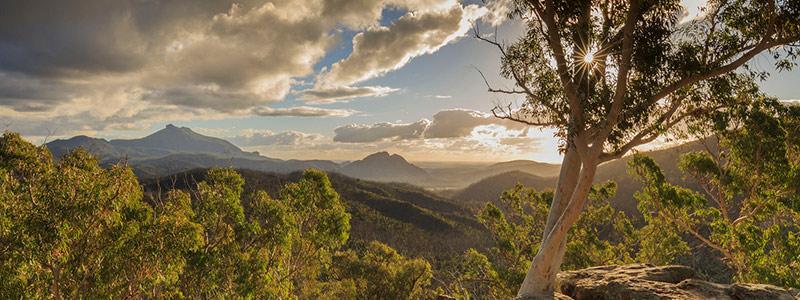 View of Warrumbungle National Park